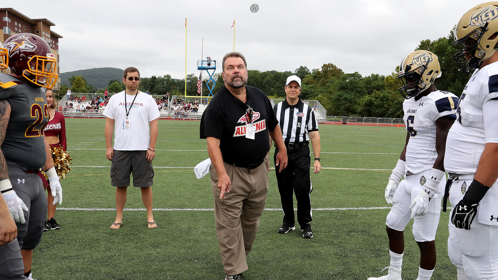 Behind The Scenes The Coin Toss That Almost Wasn T Alvernia